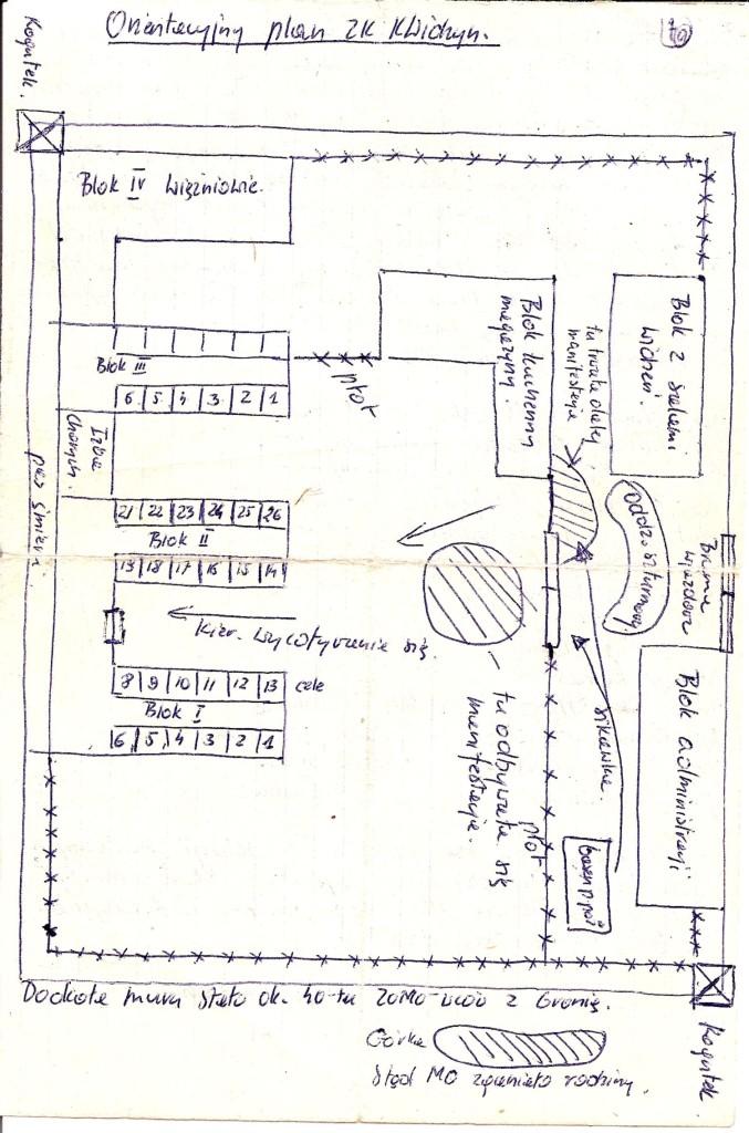 Plan obozu - Andrzej Piesiak